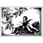 LaBlanche - Cherubs Collection - Foam Mounted Silicone Stamp - Angels in Frame