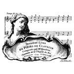 LaBlanche - Foam Mounted Silicone Stamp - Troisieme Livre