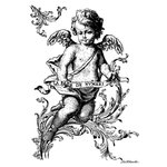 LaBlanche - Foam Mounted Silicone Stamp - Little Cherub
