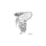 LaBlanche - Foam Mounted Silicone Stamp - Fairy