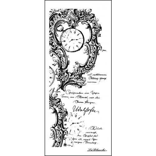 LaBlanche - Foam Mounted Silicone Stamp - Timeless Writing