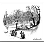 LaBlanche - Foam Mounted Silicone Stamp - Winter Stroll