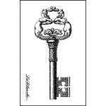 LaBlanche - Foam Mounted Silicone Stamp - Intricate Key