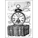 LaBlanche - Foam Mounted Silicone Stamp - Traveling Collection