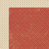 Lily Bee Design - Autumn Spice Collection - 12 x 12 Double Sided Paper - Cinnamon