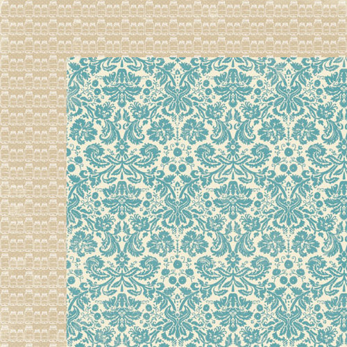 Lily Bee Design - Autumn Spice Collection - 12 x 12 Double Sided Paper - Cream