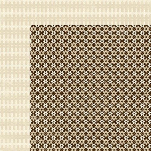 Lily Bee Design - Autumn Spice Collection - 12 x 12 Double Sided Paper - Clove