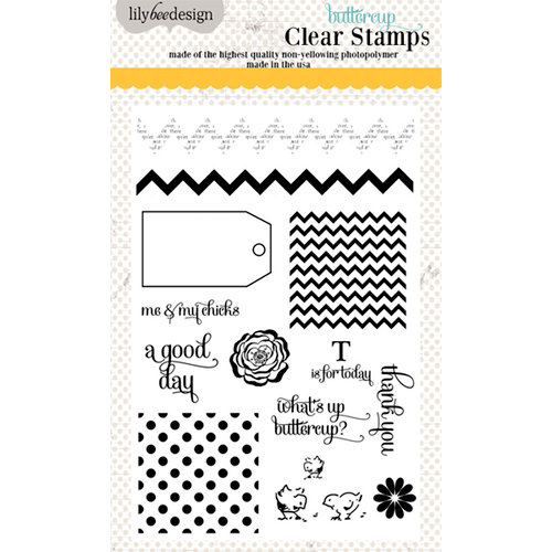Lily Bee Design - Buttercup Collection - Clear Acrylic Stamps