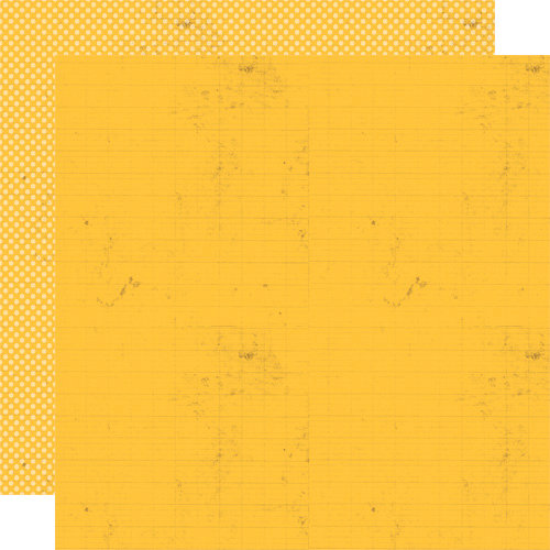 Lily Bee Design - Buttercup Collection - 12 x 12 Double Sided Paper - Sunflower