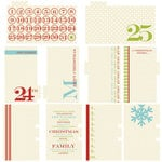 Lily Bee Design - Christmas Cheer Collection - Journal Cards