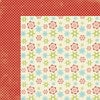 Lily Bee Design - Christmas Cheer Collection - 12 x 12 Double Sided Paper - Frosty