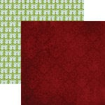 Lily Bee Design - Christmas Town Collection - 12 x 12 Double Sided Paper - City Sidewalks, CLEARANCE