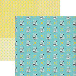 Lily Bee Design - Domestic Bliss Collection - 12 x 12 Double Sided Paper - Kitchen Confidential