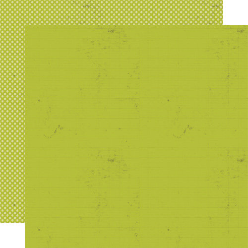 Lily Bee Design - Double Dutch Collection - 12 x 12 Double Sided Paper - Celery