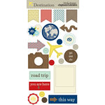 Lily Bee Design - Destination Collection - Chipboard Stickers