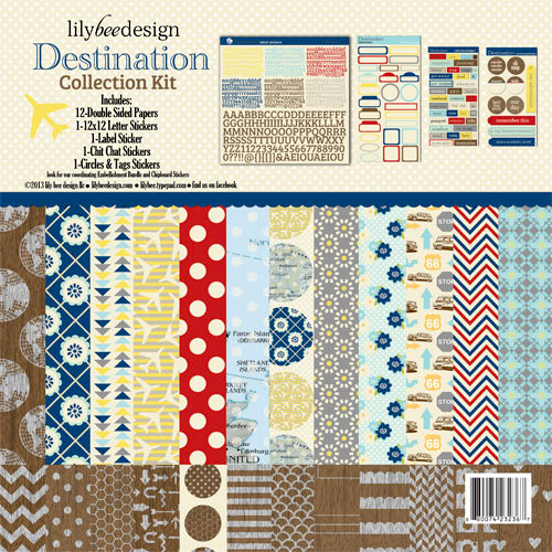 Lily Bee Design - Destination Collection - 12 x 12 Collection Kit