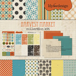 Lily Bee Design - Harvest Market Collection - Halloween - 12 x 12 Collection Kit