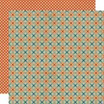 Lily Bee Design - Harvest Market Collection - Halloween - 12 x 12 Double Sided Paper - Peach Crisp