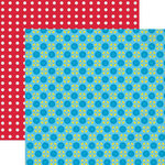 Lily Bee Design - Hello Sunshine Collection - 12 x 12 Double Sided Paper - Fly A Kite, CLEARANCE