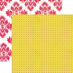 Lily Bee Design - Hello Sunshine Collection - 12 x 12 Double Sided Paper - Savannah, CLEARANCE