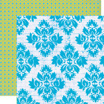 Lily Bee Design - Hello Sunshine Collection - 12 x 12 Double Sided Paper - Picnic, CLEARANCE