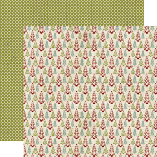 Lily Bee Design - Jingle Collection - Christmas - 12 x 12 Double Sided Paper - Merry and Bright