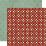 Lily Bee Design - Jingle Collection - Christmas - 12 x 12 Double Sided Paper - Peppermint