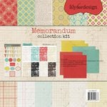 Lily Bee Design - Memorandum Collection - 12 x 12 Collection Kit