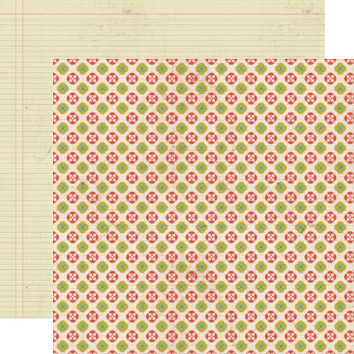 Lily Bee Design - Memorandum Collection - 12 x 12 Double Sided Paper - Cubicle