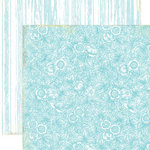Lily Bee Design - Picket Fence Collection - 12 x 12 Double Sided Paper - Veranda