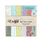Lily Bee Design - Picket Fence Collection - Tiny Tablet - 6 x 6 Paper Pad