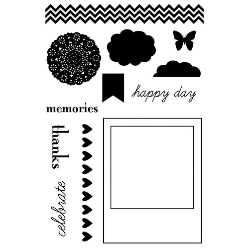 Lily Bee Design - Persnickety Collection - Clear Acrylic Stamps