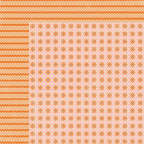 Lily Bee Design - Persnickety Collection - 12 x 12 Double Sided Paper - Picky