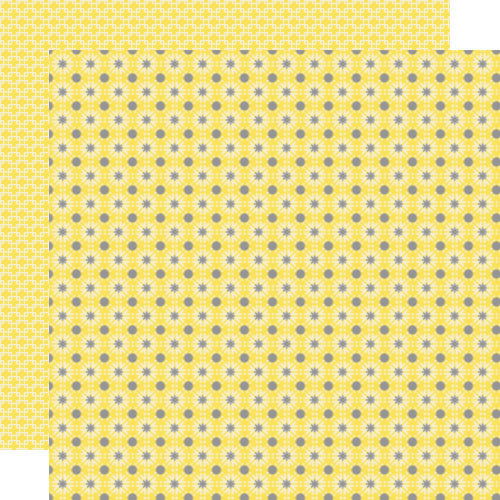 Lily Bee Designs - Pinwheel Collection - 12 x 12 Double Sided Paper - Lemonade Stand