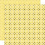 Lily Bee Design - Pinwheel Collection - 12 x 12 Double Sided Paper - Lemonade Stand