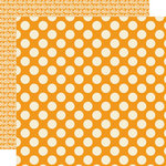 Lily Bee Design - Pinwheel Collection - 12 x 12 Double Sided Paper - Apricot Tree