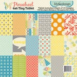 Lily Bee Design - Pinwheel Collection - Tiny Tablet - 6 x 6 Paper Pad