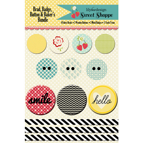Lily Bee Design - Sweet Shoppe Collection - Embellishment Bundle