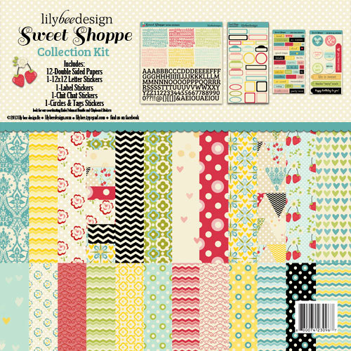 Lily Bee Design - Sweet Shoppe Collection - 12 x 12 Collection Kit