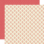 Lily Bee Design - Sweet Shoppe Collection - 12 x 12 Double Sided Paper - Cotton Candy