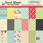 Lily Bee Design - Sweet Shoppe Collection - Tiny Tablet - 6 x 6 Paper Pad