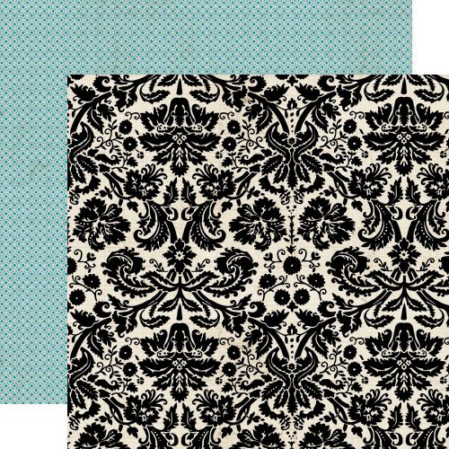 Lily Bee Design - This and That Collection - 12 x 12 Double Sided Paper - Pretty Fabric