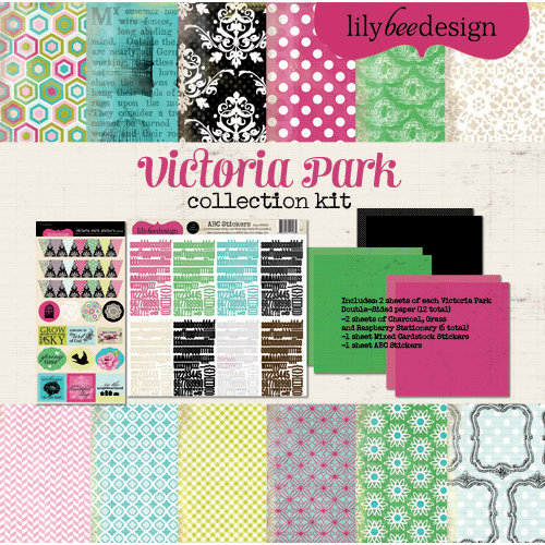 Lily Bee Design - Victoria Park Collection - 12 x 12 Collection Kit