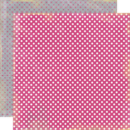 Lily Bee Design - Victoria Park Collection - 12 x 12 Double Sided Paper - Richmond Row