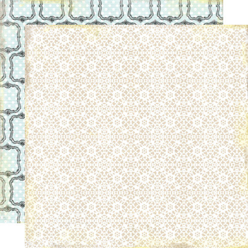 Lily Bee Design - Victoria Park Collection - 12 x 12 Double Sided Paper - Princess Avenue