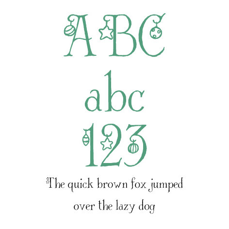 Fonts - Lettering Delights - Deck the Halls (Windows)