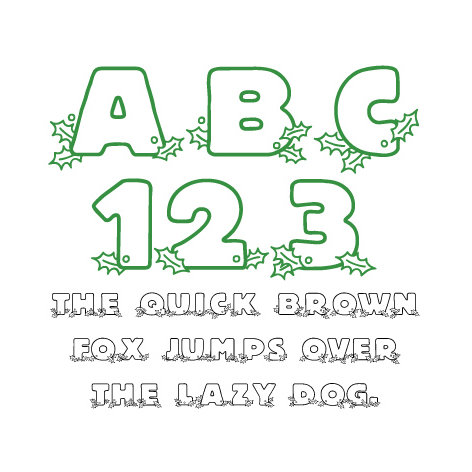 Fonts - Lettering Delights - Holly (Windows)