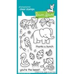 Lawn Fawn - Clear Acrylic Stamps - Critters in the Jungle