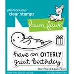 Lawn Fawn - Clear Acrylic Stamps - Year Five