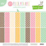 Lawn Fawn - Let's Polka, Mon Amie Collection - 12 x 12 Collection Pack